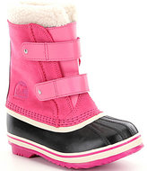 Sorel Kids' Waterproof Cold Weather 1964 Pac Strap Girls' Boots