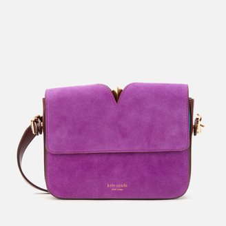 Kate Spade Women's Mystery Suede Small Shoulder Bag - Berry Blitz Multi