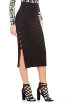 GUESS Yoshi Caged Midi Skirt