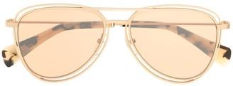 Yohji Yamamoto Aviator-Style Sugnglasses