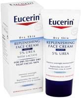 Eucerin Dry Skin Replenishing Face Cream Night 5% Urea with Lactate (50ml)