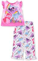 My Little Pony Girls' 2-Piece Pajamas