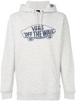 Vans logo patch hooded sweatshirt