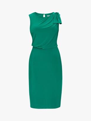 Gina Bacconi Estefani Bow Shoulder Jersey Dress