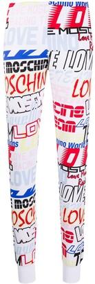 Love Moschino Repeat Logo Leggings