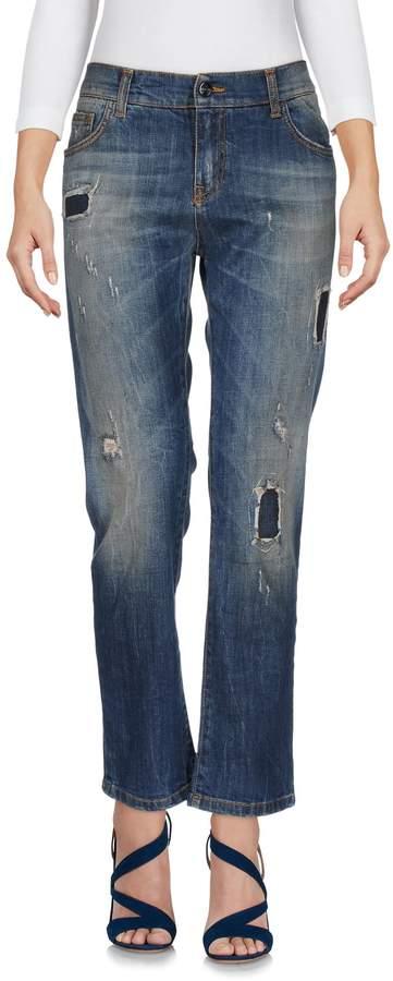Manila Grace Denim pants - Item 42585887