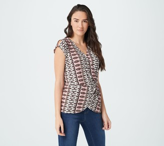 Haute Hippie Tribe 'Natalie' Cinched Front Shirt