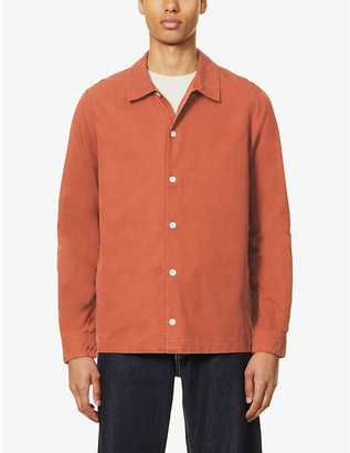 Samsoe & Samsoe Taka relaxed-fit lyocell and cotton-blend shirt