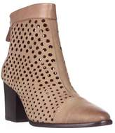 Rebecca Minkoff Bedford Perforated Ankle Boots, Tan.
