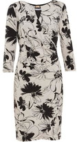 Gina Bacconi Cladine Floral Jersey Dress
