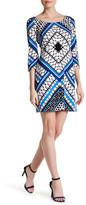 Jessica Simpson Strappy Back Print Dress