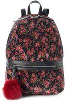 Candies Candie's® Scarlett Floral Velvet Backpack