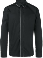 Givenchy chain long sleeved shirt - men - Cotton/Brass - 39