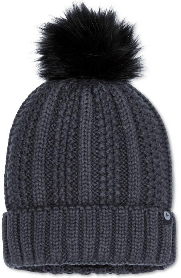 6cabbbb3a Bronx Faux-Fur Pom Pom Hat
