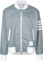 Thom Browne lightweight vent jacket - men - Cotton/Polyester - 1