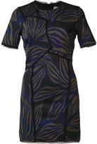 Jason Wu patterned bodycon mini dress - women - Viscose - 4