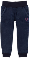 True Religion Indigo Mineral Sweatpant (Toddler & Little Girls)