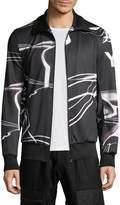 Y-3 Men's Wave Print Track Jacket