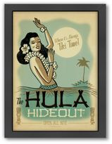 """""""Hula Hideout"""" Framed Wall Art by Anderson Design Group"""