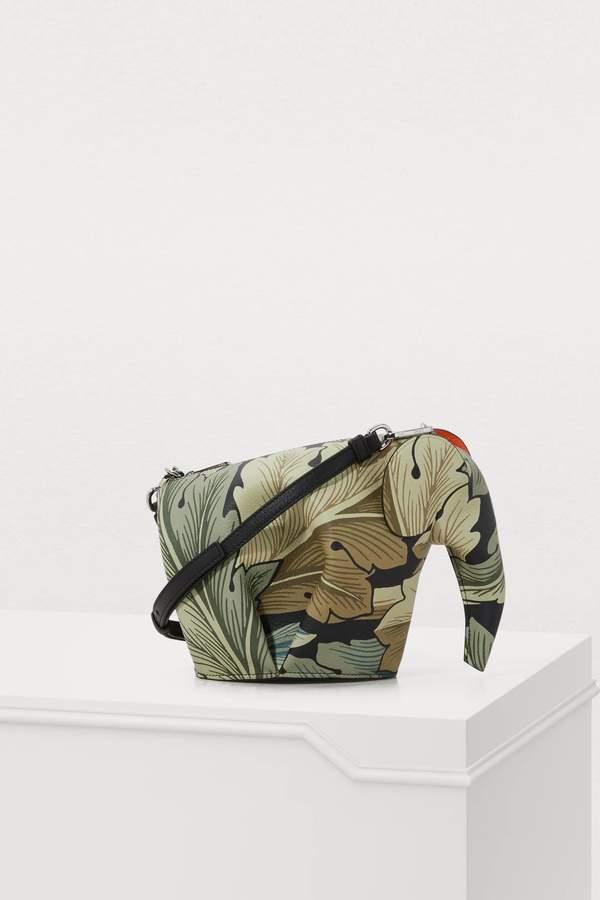Loewe Elephant camo mini bag