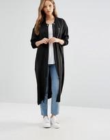 Minimum Moves Oversize Coat