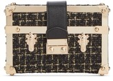 INC International Concepts Inc Gonca Boucle Box Clutch, Created For Macy's