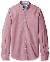 Ben Sherman Men's Mini Mod Long Sleeve Shirt