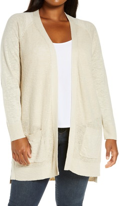 Caslon Linen & Cotton Cardigan