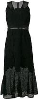 Jonathan Simkhai sleeveless lace trumpet dress