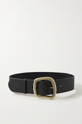 Gabriela Hearst Simone Leather Belt - Black