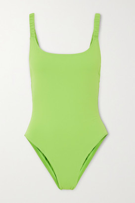 Fisch Select Neon Swimsuit - Bright green