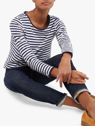 White Stuff Carly Stripe Jersey Top