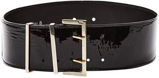Gianfranco Ferre Black Patent leather Belts