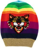 Gucci Angry Cat motif beanie hat