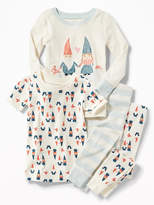 Old Navy Gnomes-Graphic 4-Piece Sleep Set for Toddler & Baby