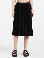 Calvin Klein Platinum Lightweight Pleated Skirt