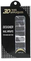Forever love So Beauty Salon Style Nail Polish Strips-16 Strips Per Pack