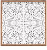 DENY Designs Iveta Abolina Gray Maze Square Tray