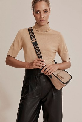 Country Road Piped Detail Crossbody Bag