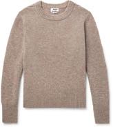 Acne Studios Kai Mélange Wool Sweater - Sand
