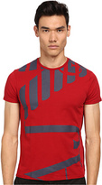 Armani Jeans Abstract Side Logo Tee Men's T Shirt