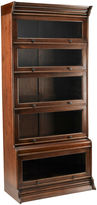 AA Importing Dean 73 Lawyers Bookcase, Mahogany