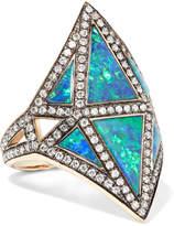 Noor Fares - Nellum 18-karat Gold Multi-stone Ring