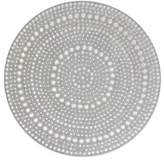 Bejeweled vanity tray, 'Silver Glitz'