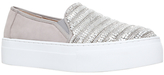 KG by Kurt Geiger Latina Slip On Trainers, Grey