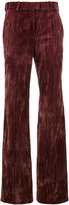 Nina Ricci flared trousers - women - Silk/Cotton/Acetate - 40