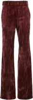 Nina Ricci flared trousers - women - Silk/Cotton/Acetate - 40