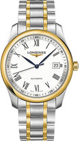 Longines L2.793.5.19.7 Master Collection 18ct Gold-plated And Stainless Steel Watch