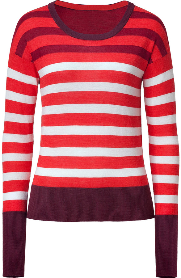Marc by Marc Jacobs Corvette Red Multicolor Yasmin Top