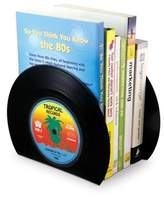 M's MS Cool Retro Vinyl Record Bookend Bookshelves Vintage Look Gift Book File Home